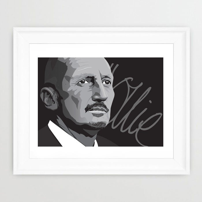 "Image of Ian ""Ollie"" Hollway Print"