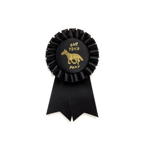 Image of One Trick Pony Rosette Ribbon