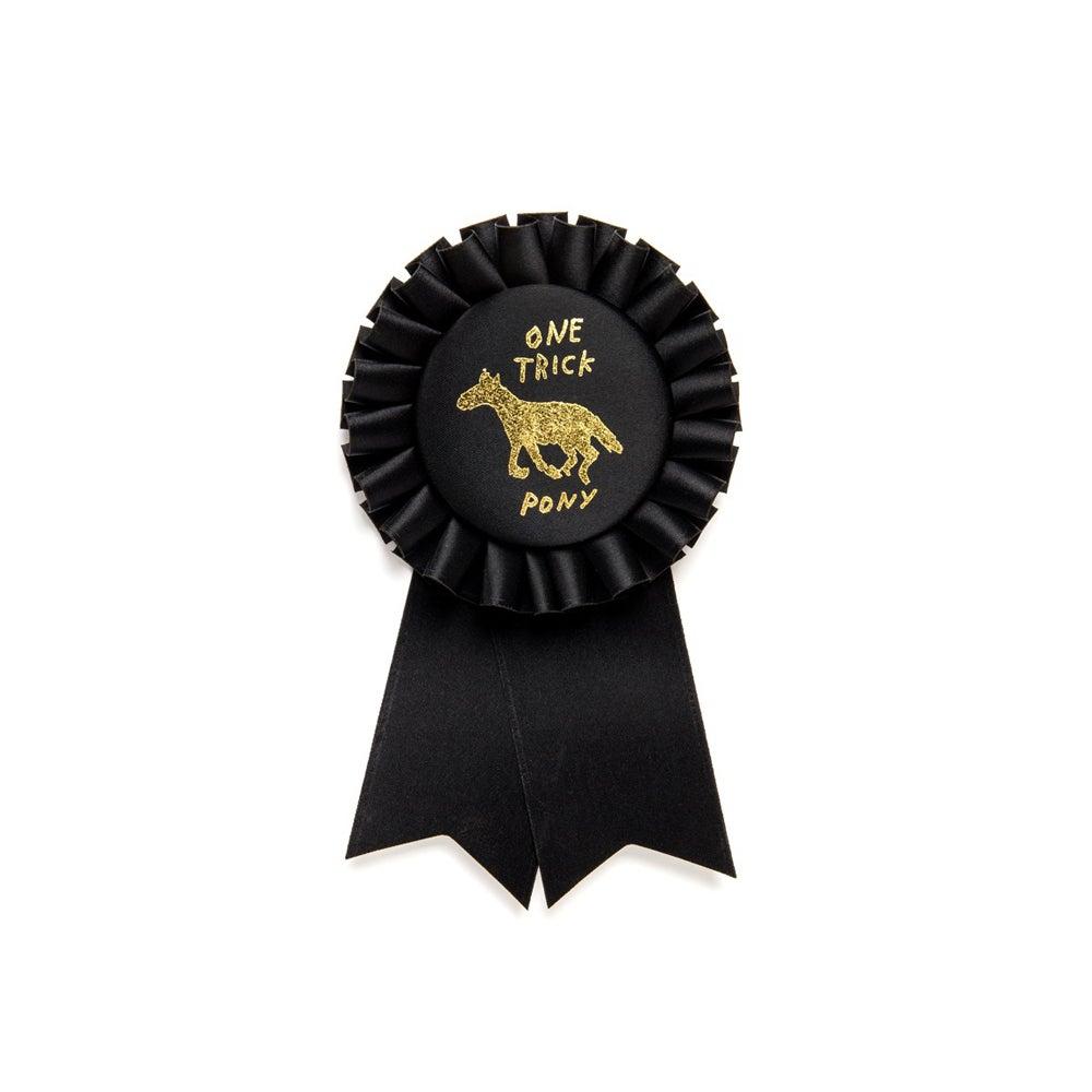 Image of One Trick Pony Rosette Ribbon
