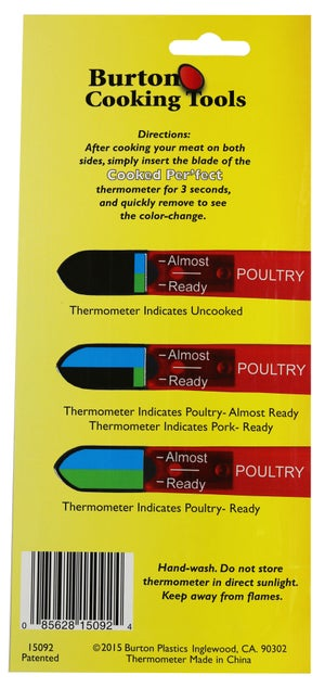 Image of Cooked Per'fect Poultry and Pork Thermometer
