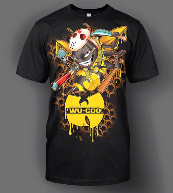 Image of WU GOO KILLA BEE T-SHIRT