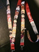 Image of Menage a 3 lanyard