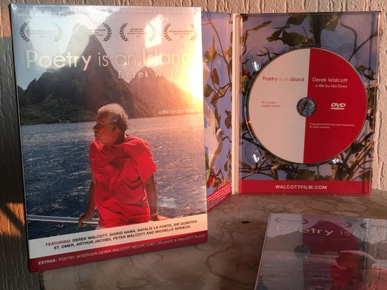 Image of OFFICIAL DVD OF 'POETRY IS AN ISLAND'  AND 40 MINUTES EXTRAS FOR HOME VIEWING.