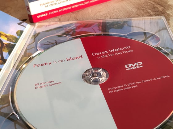 Image of OFFICIAL DVD OF 'POETRY IS AN ISLAND' AND 40 MINUTES EXTRAS FOR HIGH SCHOOL AND LIBRARY USE.