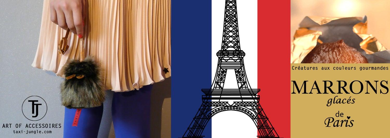Image of Croqueuse de clés Marron glacé de Paris