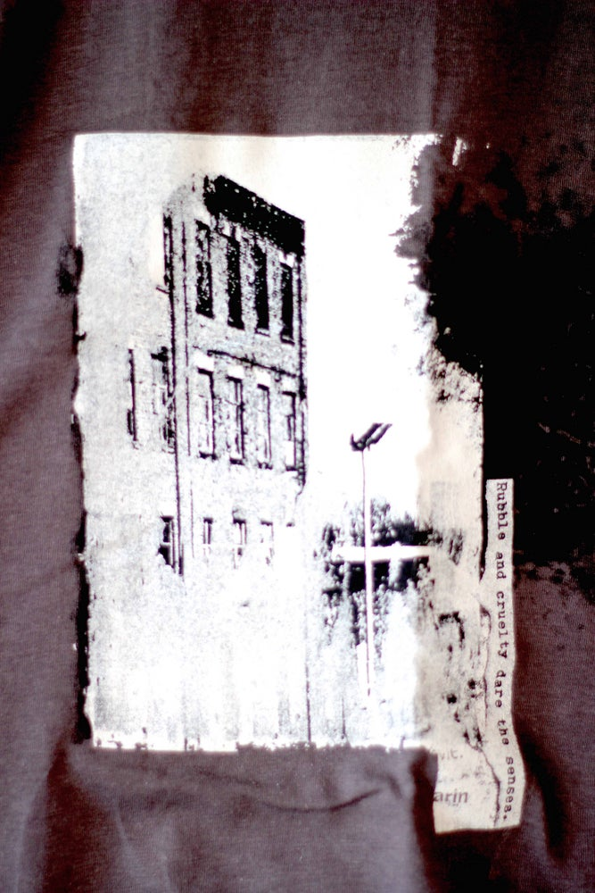 Image of LONELADY 'RUBBLE AND CRUELTY' T-SHIRT (LOW STOCK)