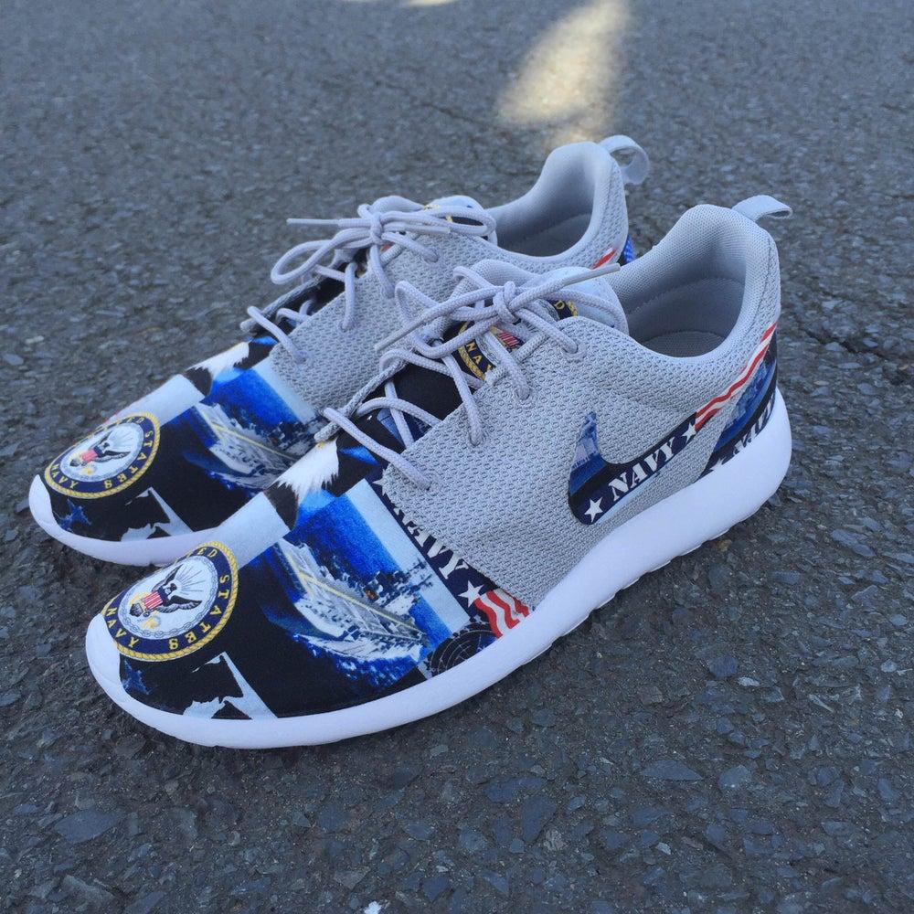 """Image of Custom Nike Roshe One """"Navy"""""""