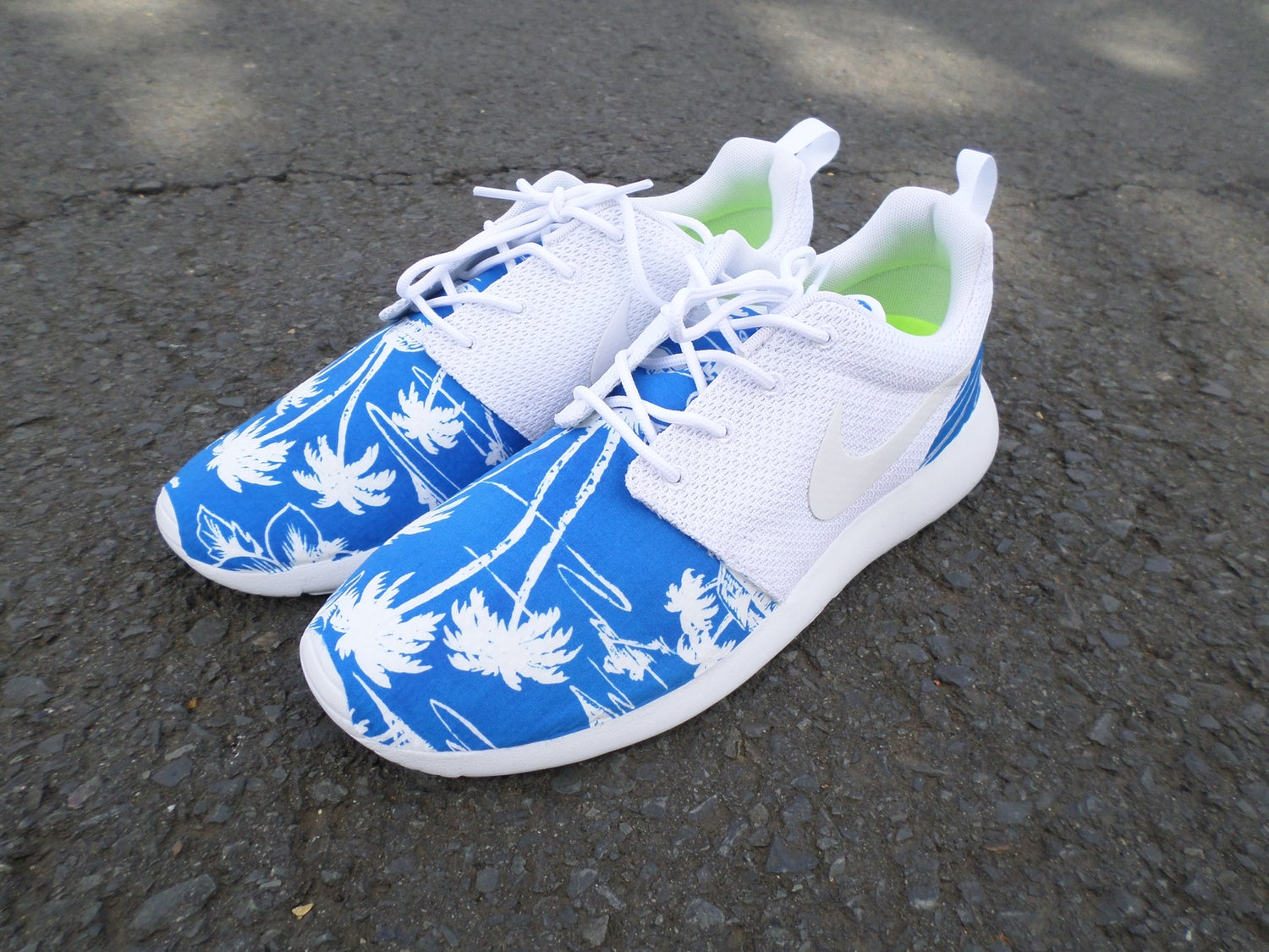 "Image of Custom Nike Roshe One ""Tropical Blues"""