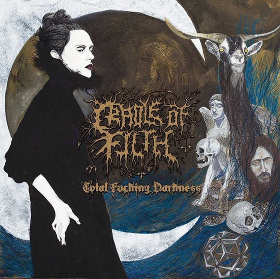 Image of Cradle of Filth - Total Fucking Darkness CD