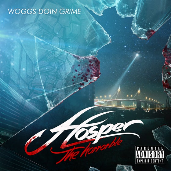 Image of Hosper The Horrorble - Woggs Doin Grime CD