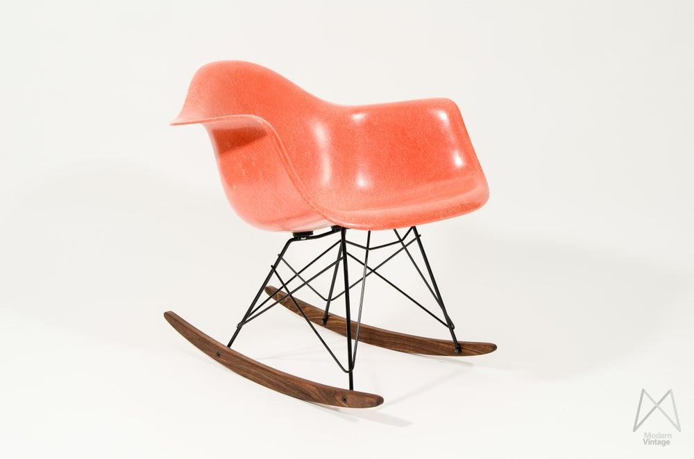 Image of Eames RAR Herman Miller Red Orange