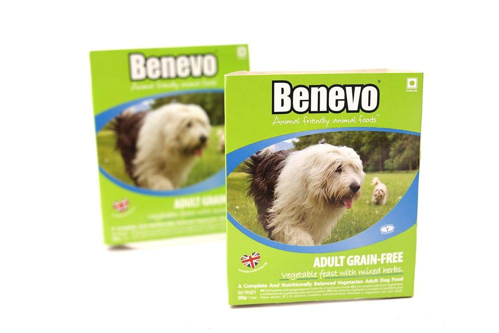 Image of BENEVO grain free vegetable feast
