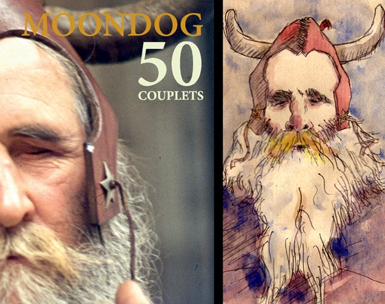 Image of 50 couplets de Moondog