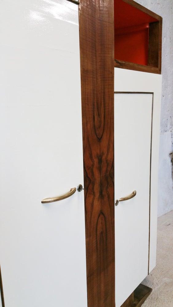 Image of Armoire asymétrique - Art déco