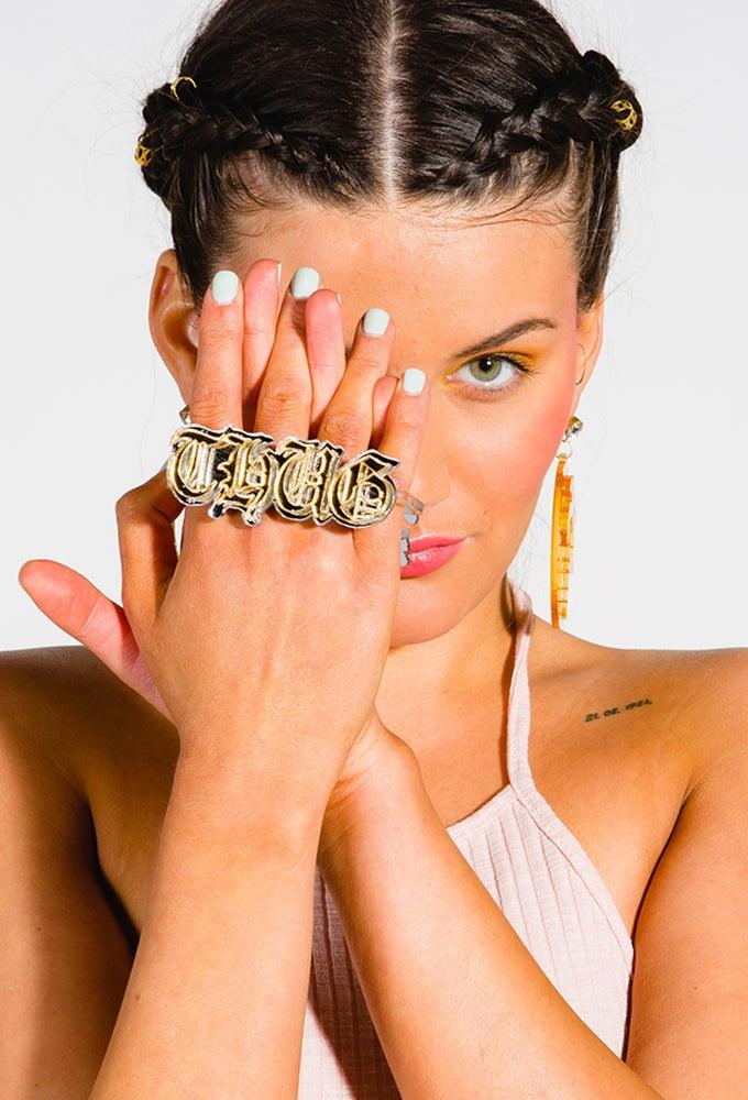 Image of Customised Name Ring