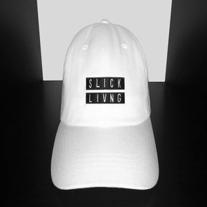 Image of EXCLUSIVE RELEASE | WHITE SLICK LIVING REP DAD HAT