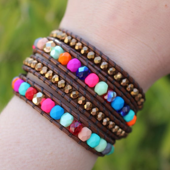 Image of Bollywood Nights wrap bracelet