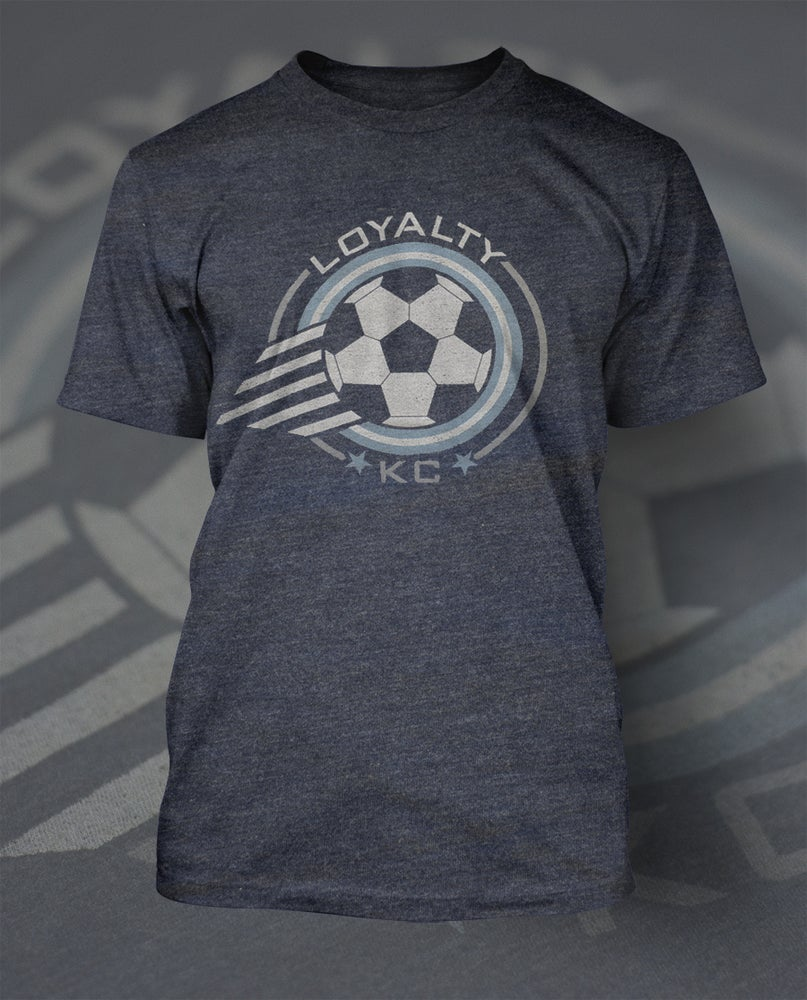 Image of Loyalty Kansas City Soccer Shirt