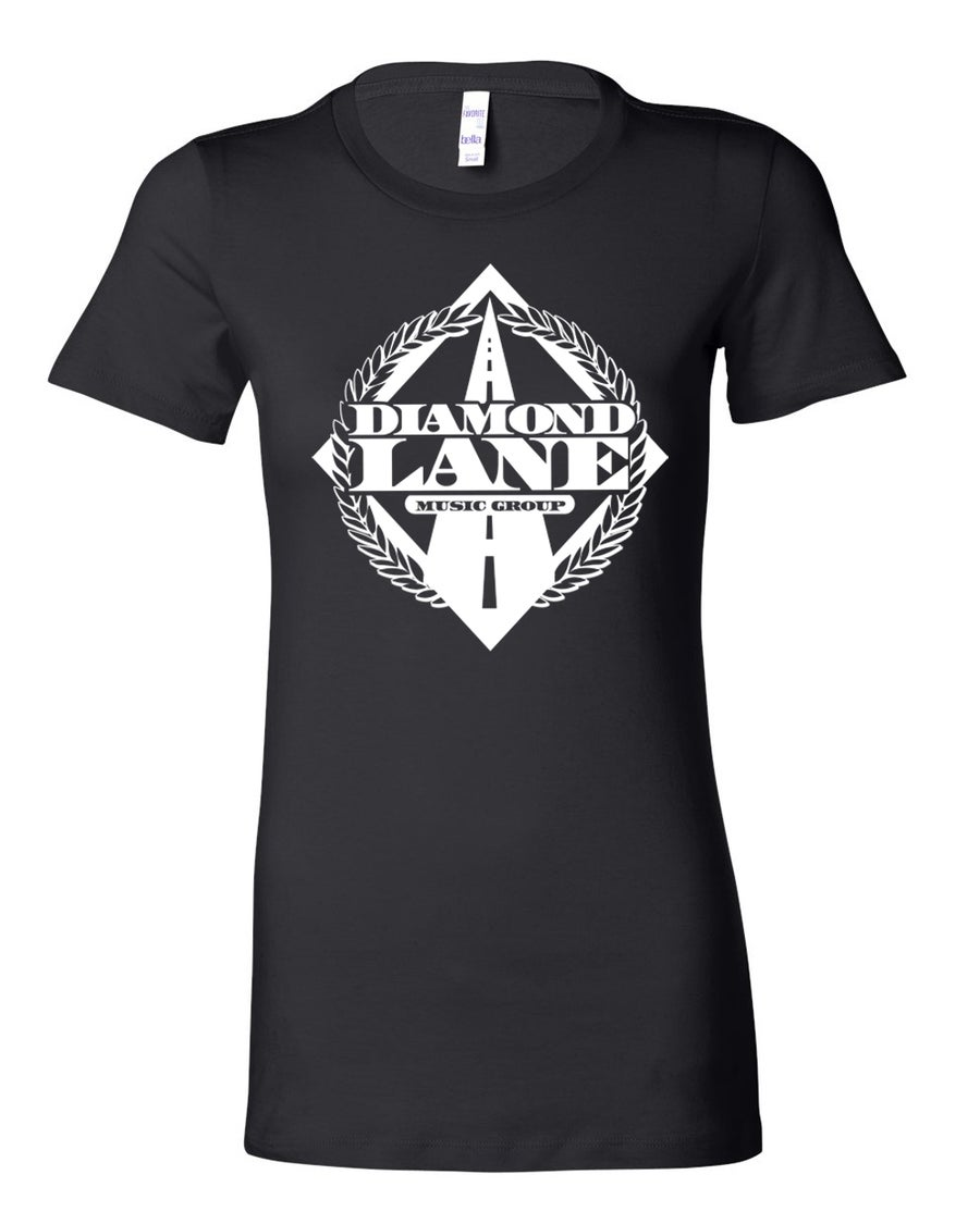 Image of Diamond Lane Ladies Tee-OG
