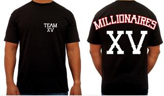 """Image of """"TEAM MILLIONAIRES XV"""" TEE"""