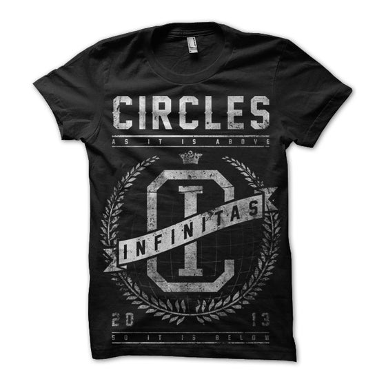 Image of Infinitas Tee (Black/White)