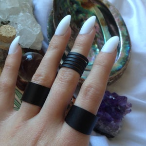 Image of 'Power of Three' Ring Set