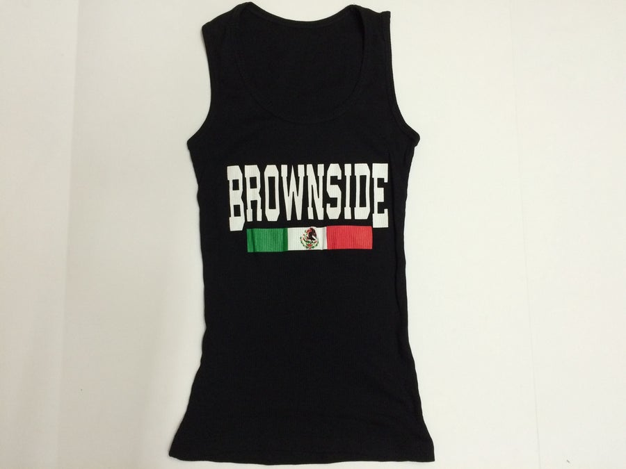 Image of Brownside girl's tank tops