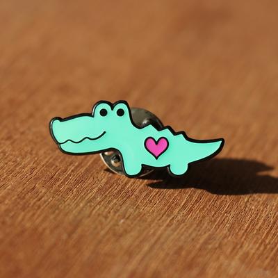 Chaos Enamel Pin - Chaos & Crocodiles