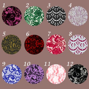 "Image of Lace Plugs (Sizes 2g-2"")"