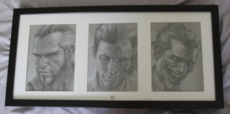 "Image of ""Villains"" Original Artwork"