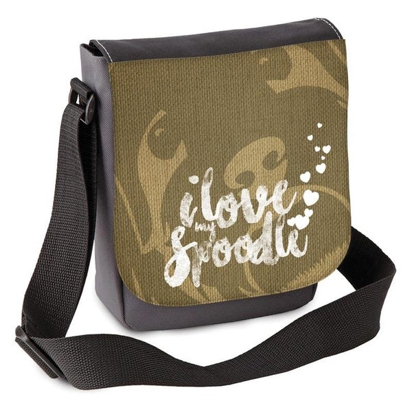 Image of 'I love my Spoodle(s)' Mini Shoulder Bag