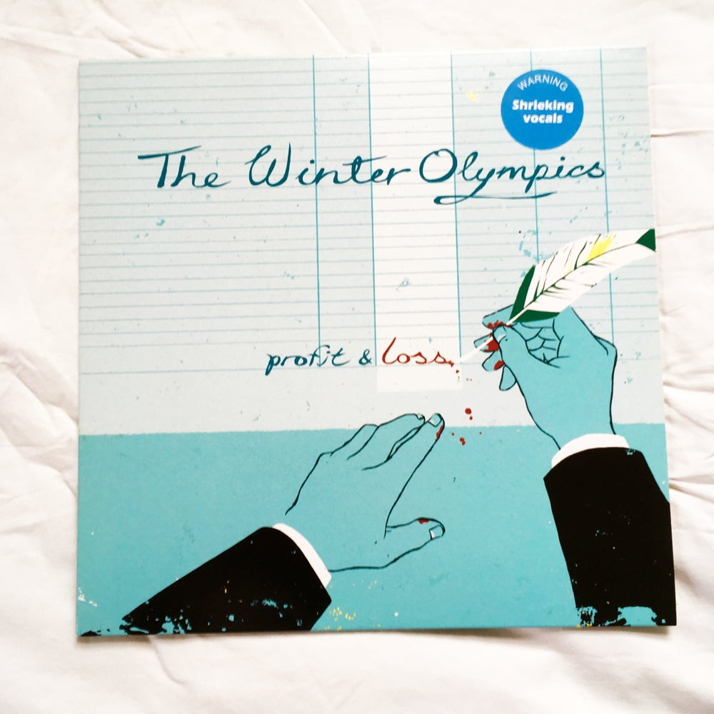 Image of THE WINTER OLYMPICS - PROFIT AND LOSS - Heavyweight Vinyl Album with Download Card