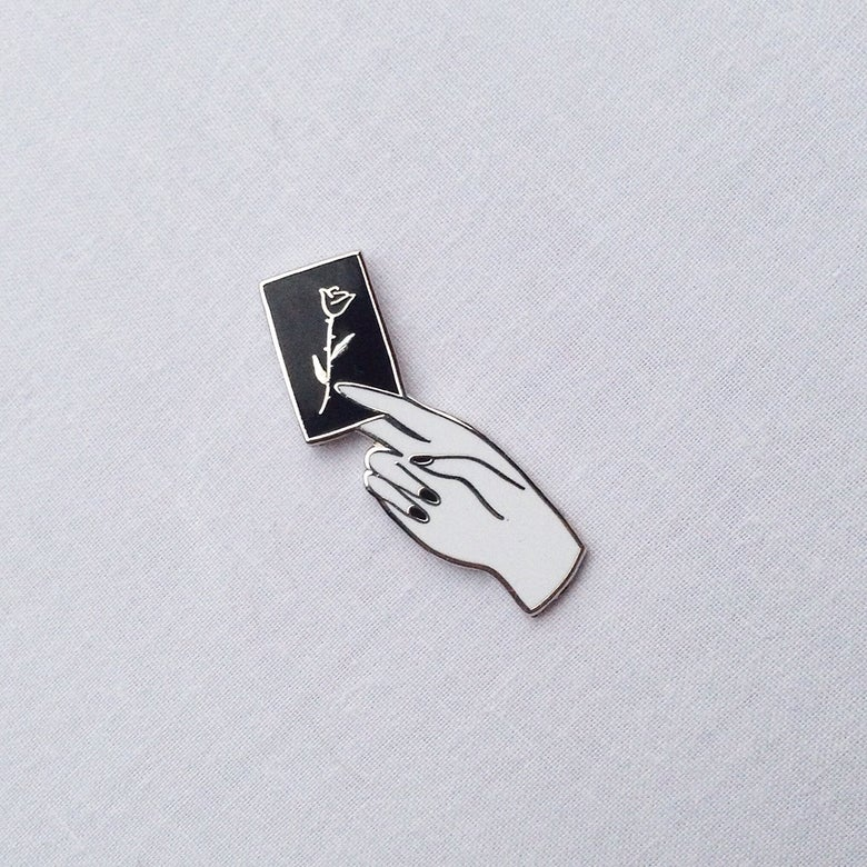 Image of Calling Card Pin