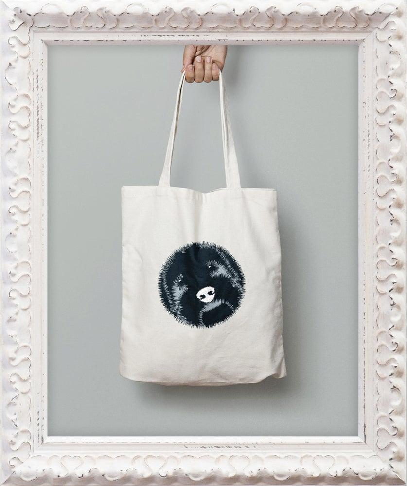 Image of 'Big Face' Tote Bag