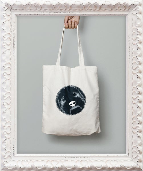 Image of 'Big Face' Tote Bag