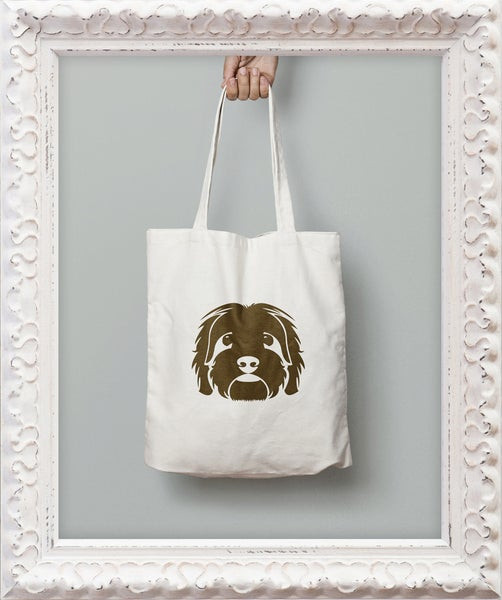 Image of Large Head Graphic Tote Bag