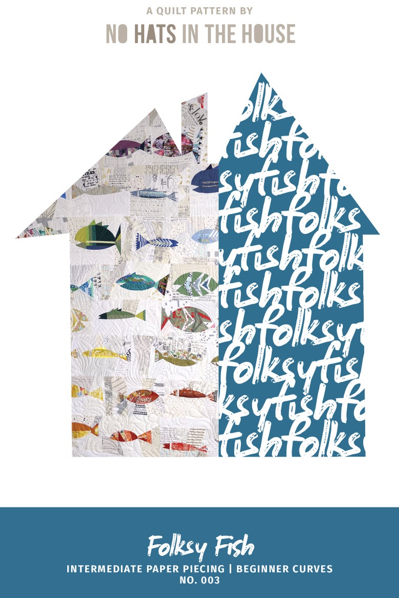 Image of Folksy Fish - no. 3 - PDF