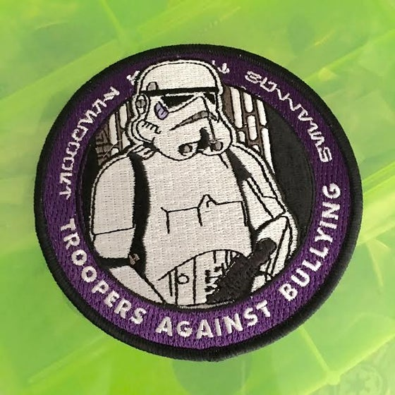 """Image of Troopers Against Bullying 4"""" Patch"""