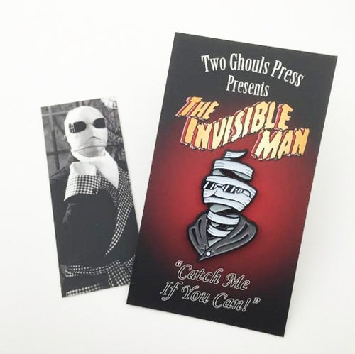 Image of Invisible Man - Lapel Pin