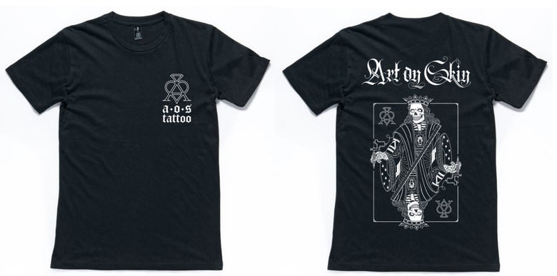 Image of Art On Skin T-Shirt - (Almost gone!)