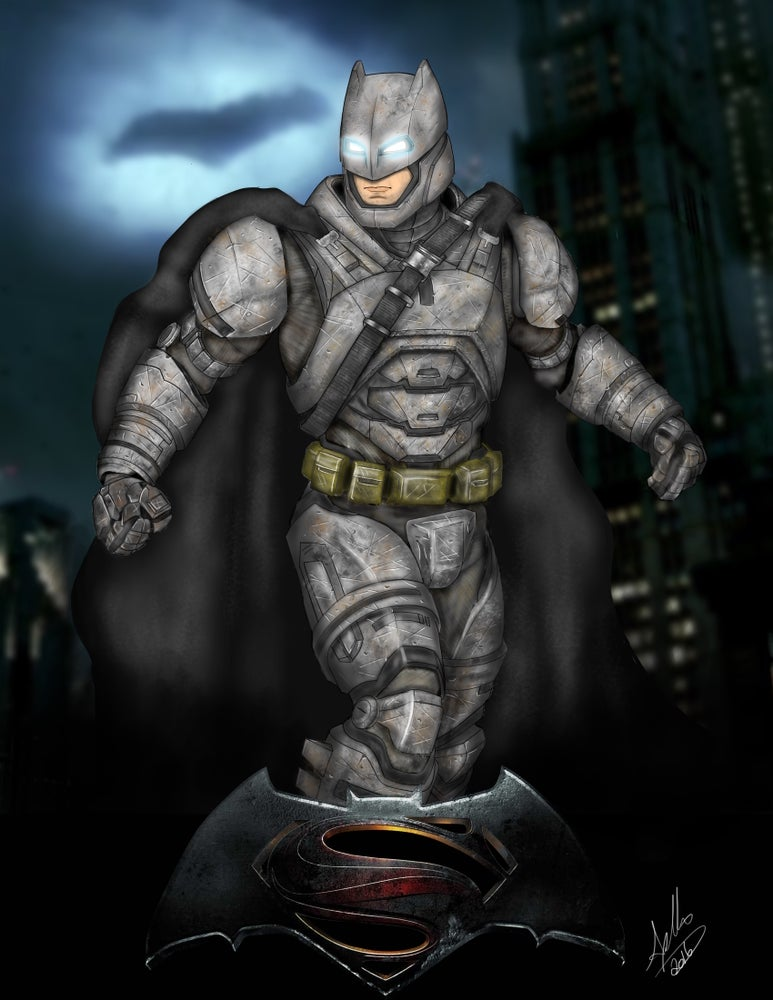 Image of ARMORED BATMAN 2016