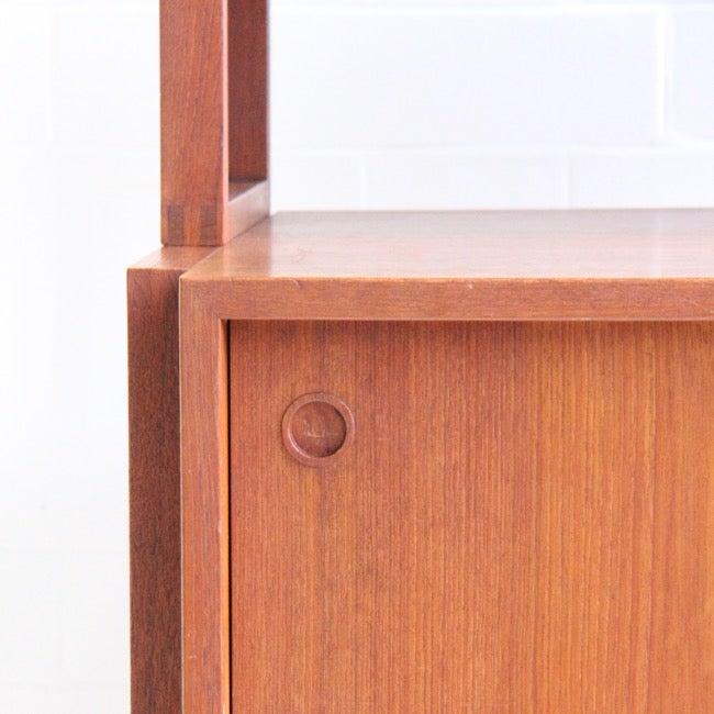 Image of Danish freestanding bookcase