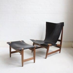 Image of Danish lounge chair