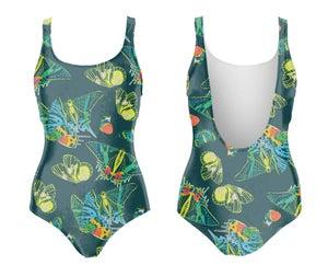 Image of Butterflies maillot de bain une-pièce