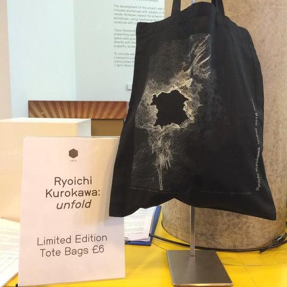 Image of Ryoichi Kurokawa: Limited Edition unfold Tote Bag