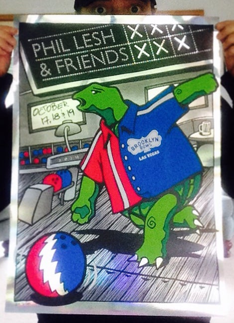 Image of Phil Lesh And Friends Brooklyn Bowl Vegas October 2014