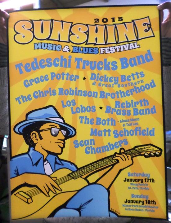Image of Sunshine Music And Blues Fest Florida 2015