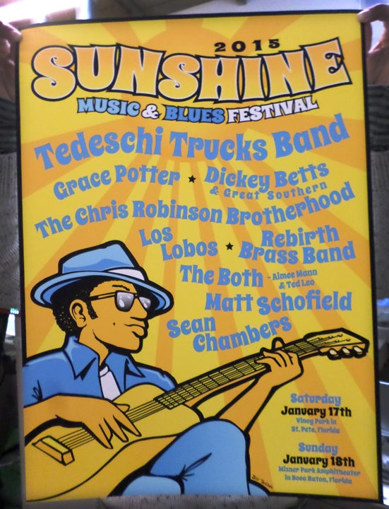 Image of Sunshine Music And Blues Fest Florida 2015