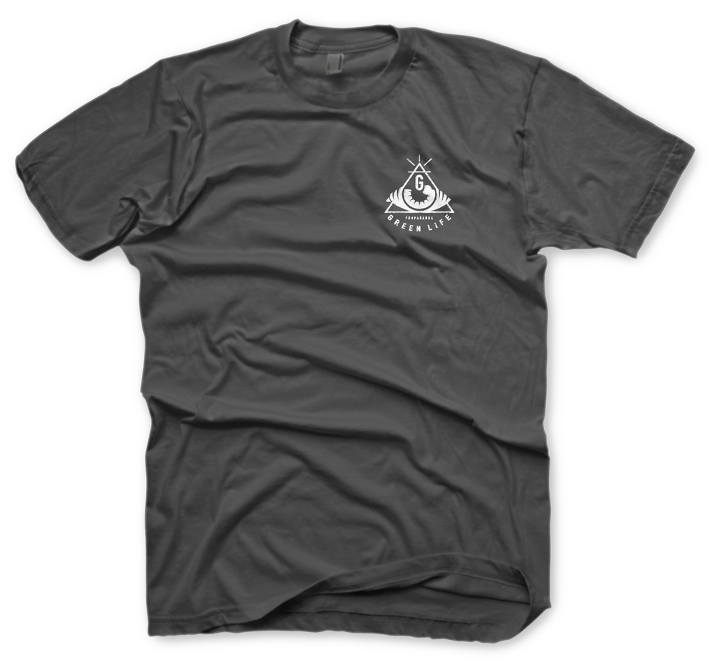 Image of The Hidden Views Tee in Charcoal