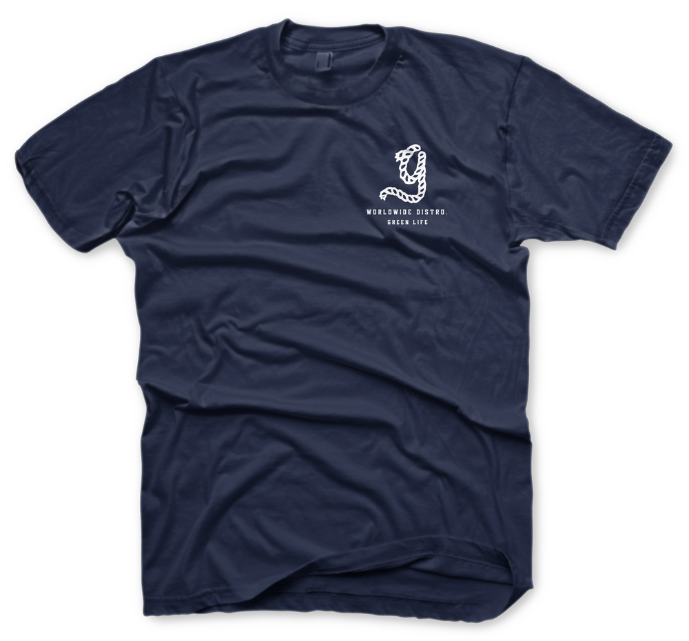 Image of The Transport Tee In Navy Blue